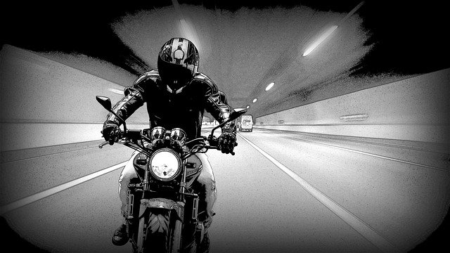 jazda na motorze
